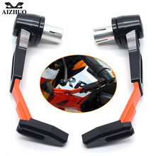 hot deal buy motorcycle hand protect guard system brake clutch levers falling protector for ktm exc duke 390 honda cb1000r cbr1000rr cbr954rr