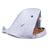 Shark Shaped Pet Bed