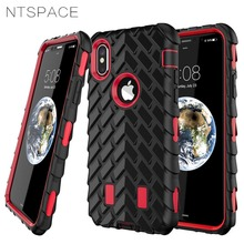цена на For iPhone X 5 5S SE Case Tyre Tire Tread Robot Hybrid Shockproof Armor Rubber Silicone Back Cover For iPhone 6 6S 7 8 Plus Case