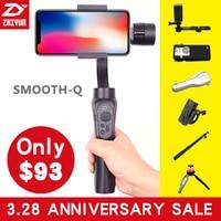 Zhi Yun Zhiyun Smooth Q Gimbal 3 Axis Brushless Handheld Phone Stabilizer For IPhone X 8