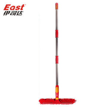 East  Useful Magic Long Pole Window Squeegee Wipe Chenille Window Cleaner Glass Brush for Wedding gift Chinese style Pakistan