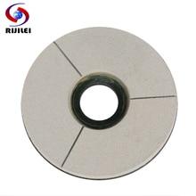 RIJILEI 125-250mm BUFF Diamond grinding disc 5-10 inch White Marble Surface Polishing Pad Granite Resin Disc BG01
