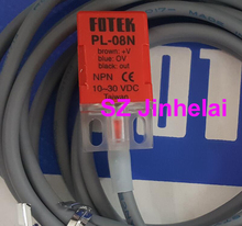 FOTEK PL 08N interruptor de proximidad original auténtico, sensores de proximidad NPN