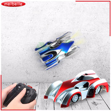 RC Wall Climbing Car With Light Remote Control Anti Gravity Ceiling Racing Car Electric Toy Machine