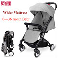 Baby Throne Brands Lightweight Baby Stroller 0~36M Portable Baby Cariage Infant Prams Pushchairs Buggies With Many Gifts