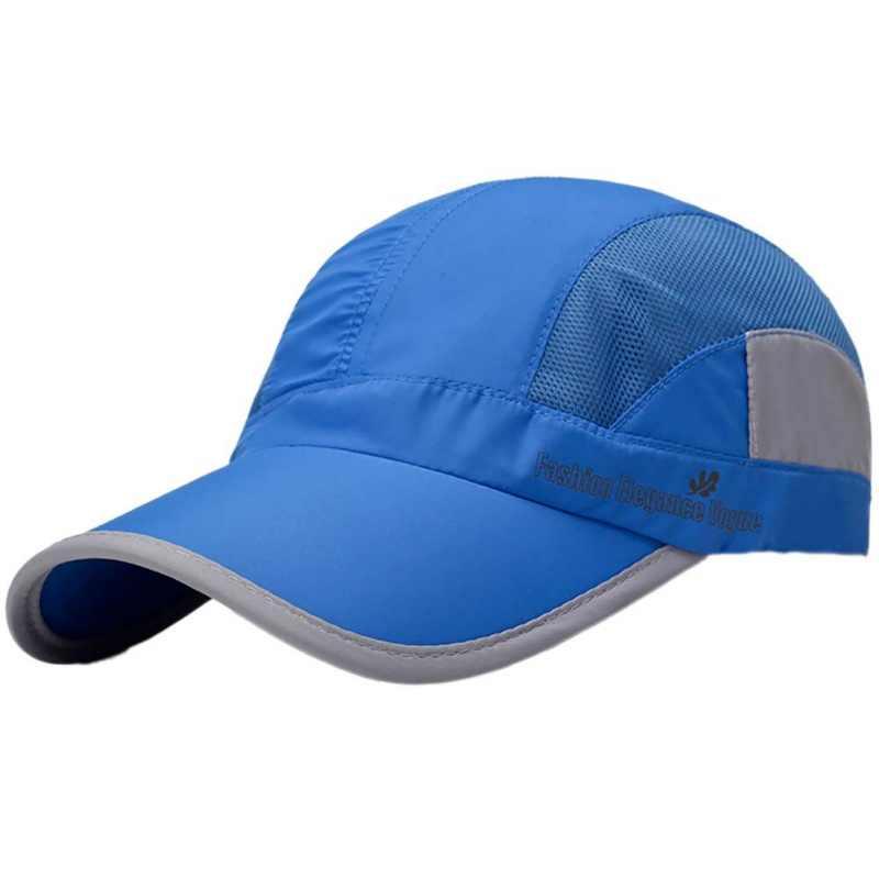 Gorra salvaje sombrilla transpirable montañismo secado rápido gorra hit color secado rápido letra sombrero unisex