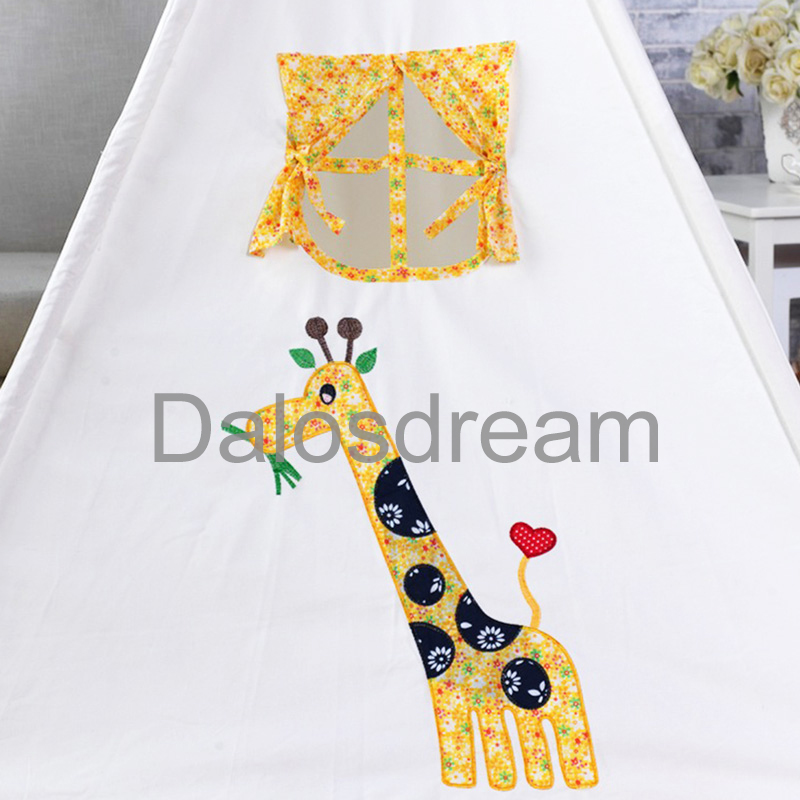Dalos Dream Giraffe Kids Teepee Tent Indoor Tipi Tent Printed Play House Tent Indian Teepees For Kids Toy Tent For Kids-in Toy Tents from Toys u0026 Hobbies on ...  sc 1 st  AliExpress.com & Dalos Dream Giraffe Kids Teepee Tent Indoor Tipi Tent Printed Play ...