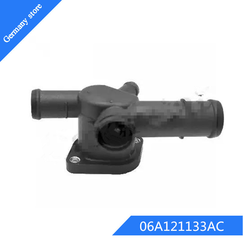 Thermostat Housing New for Audi A4 Quattro A6 Q5 A5 2008-2010