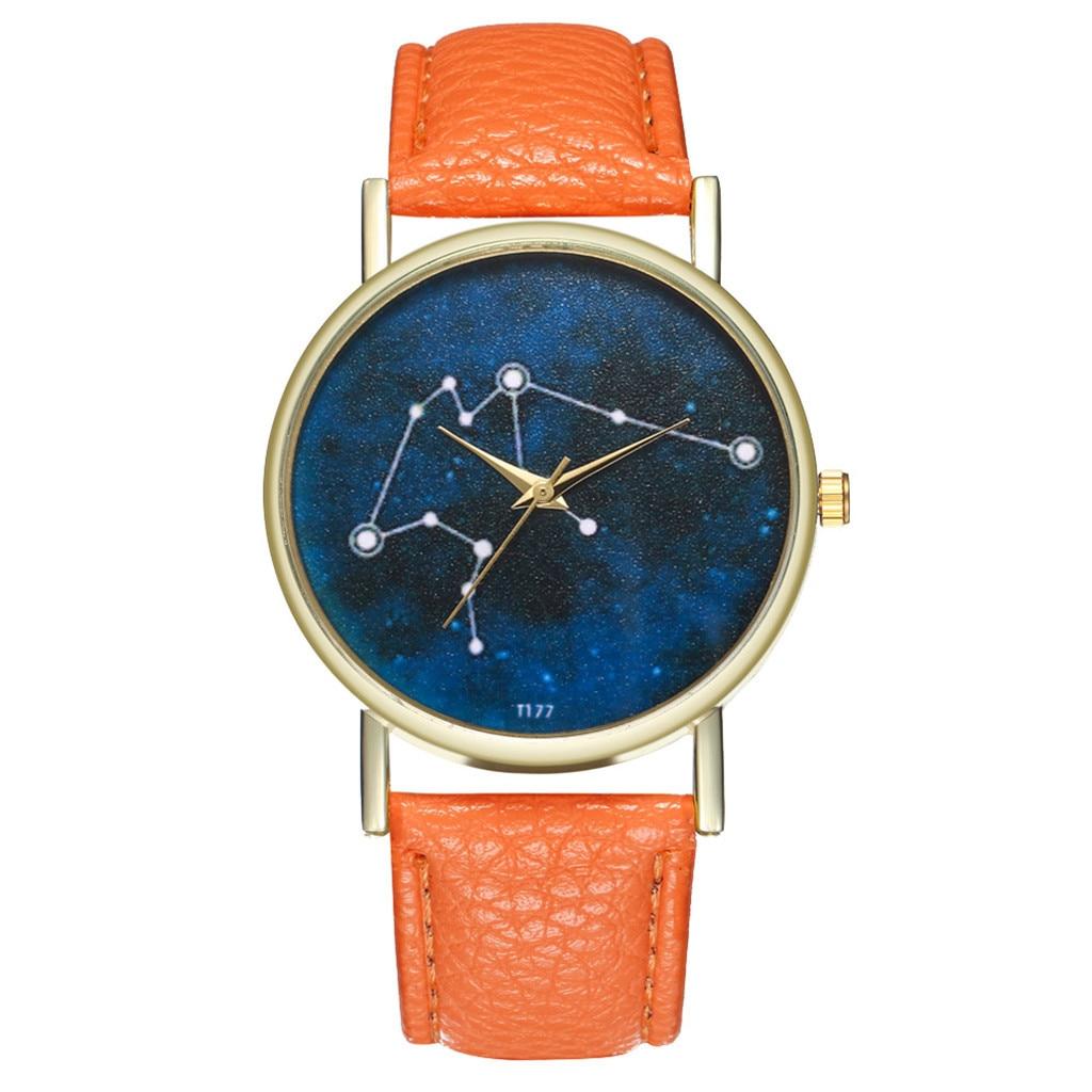 women watche Fashion Casual Geneva Ladies Faux Leather Quartz Analog Wrist Watch Wristwatch Clock Gift watches woman clock