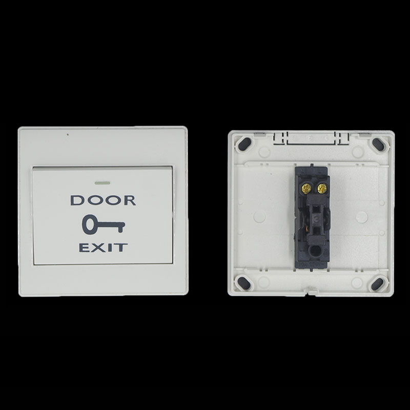 Security & Protection Mounted Exit Button With Bottom Box For Rfid Reader Card Open Door Access Switch Suitable For All Kinds Of Electric Lock