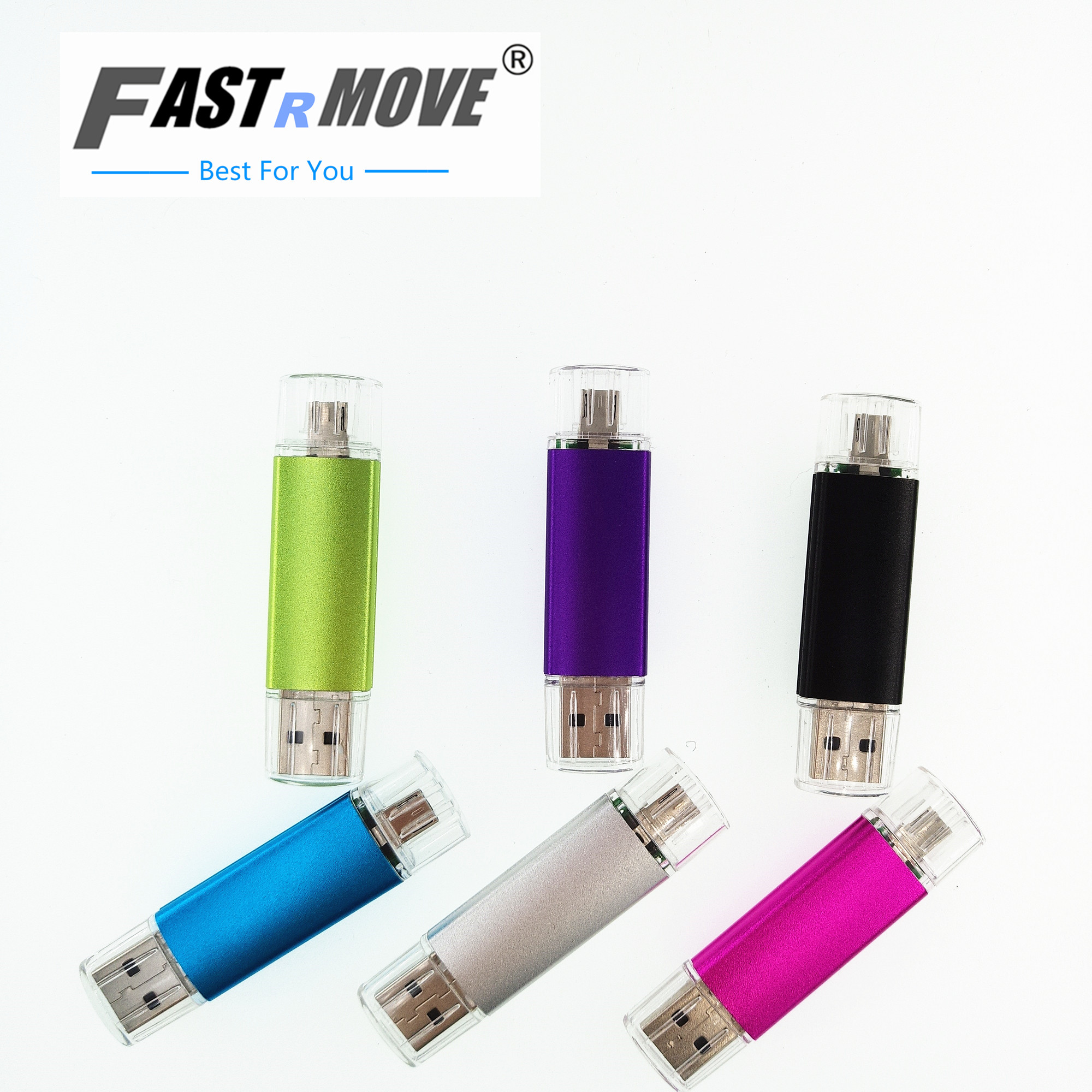Metal PenDrive usb 4gb 8gb 16gb 32gb 64gb USB Flash Drive pen drive external storage micro usb 2.0 drive memory usb stick S245