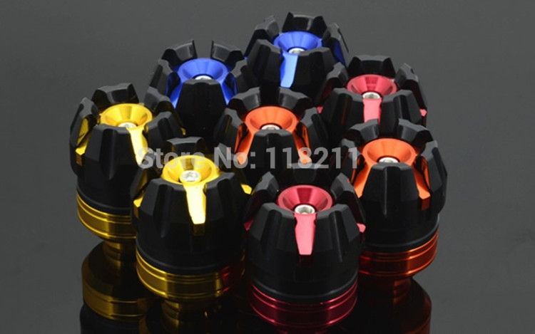 RPMMOTOR Universal Motorcycle CNC Aluminum Frame Slider Anti Crash Caps engine protection for Honda kawasaki yamaha