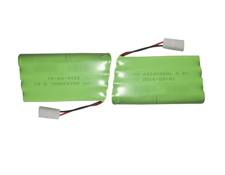 Cncool 2pack 9.6V 2400mAh Remote Control toy electric lighting lighting security facilities AA battery Ni-MH battery group