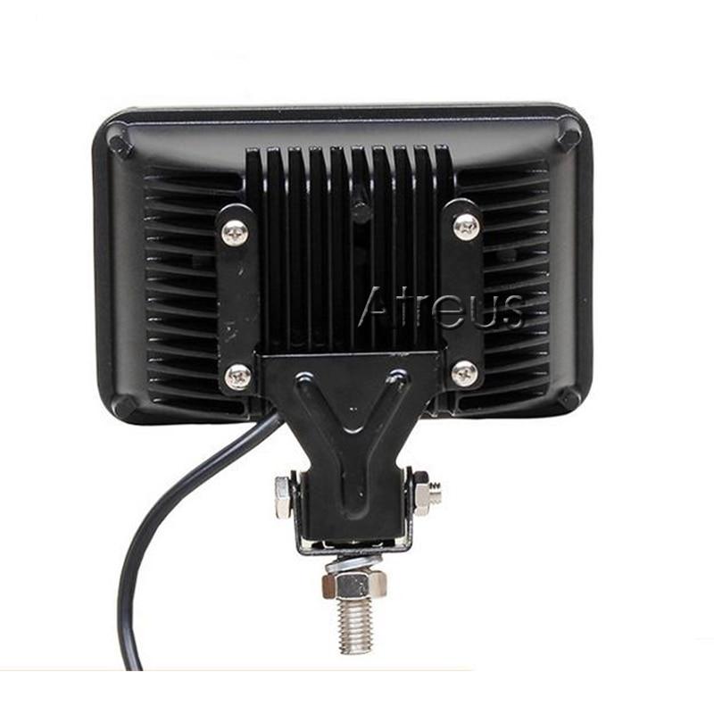 Atreus 7-inčni 45W kvadratni LED radno svjetlo 15x3W 12V 24V mjesto - Svjetla automobila - Foto 2