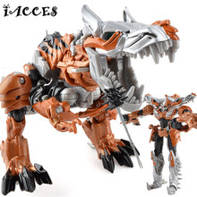 Plastic Deformation Toys Movie 4 Dinosaur Juguetes Classic Robot Car Toys Action Figures Boys Toys Gift Model Brinquedos