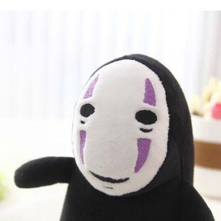 Унесенные Призраками Без лица куклы человек, аниме детская игрушка кукла, наполнитель и плюшевые Игрушечные лошадки, мягкие Игрушечные лош...