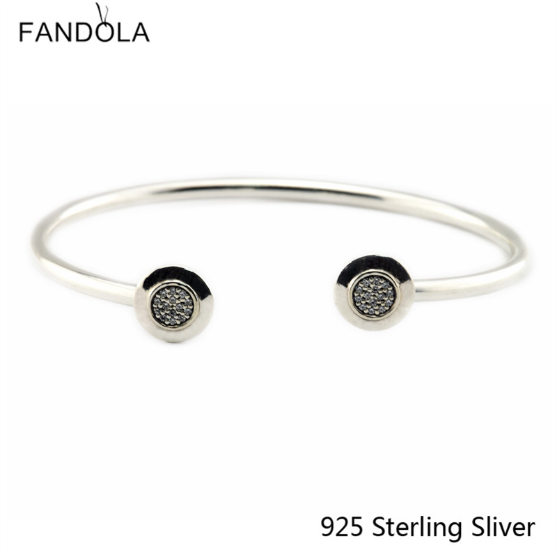 CKK 925 Sterling Silver Sign Náramky pro ženy Originální módní šperky Výroba výročí dárek