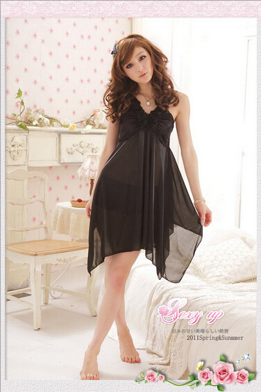 New Arrival Fashion Sexy Women Nightgown,Hot Sale For ladies for summer,autumn  Sleepwears freeshipping