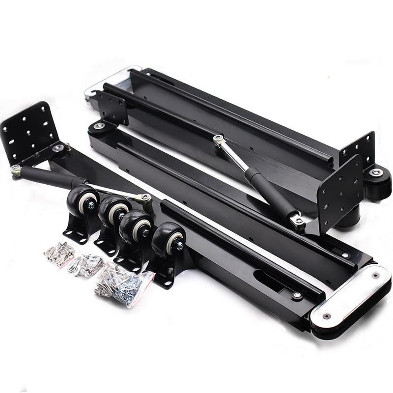 DIY Folded Table Mechanism Kit Hidden Book Table Hardware Set Gas Spring Furniture Hinges