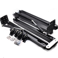 DIY Folded Table Mechanism Kit Hidden Book Table Hardware Set Gas spring Furniture Hinges
