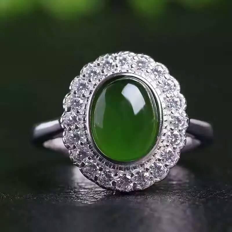 Green jasper gemstone earrings pierced gemstone gift for  |Green Jasper Jewelry