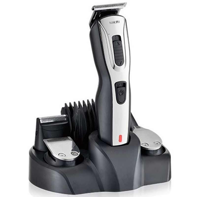 5in1 أدوات للعناية الشخصية الشعر المتقلب اللحية trimer مقص الشعر للرجال قصبة الوجه المتقلب رئيس الكهربائية آلة قطع الشعر حلاقة