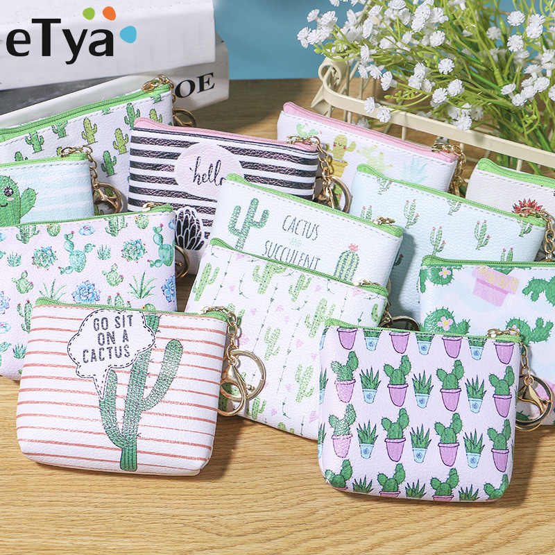 abee97819569 2019 casual vintage small floral coin purse waterproof cotton Fabric ...