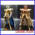 FÃS MODELO Toyzone Modelo Aquarius Camus Saint Seiya de metal cheia armadura de Ouro Pano Mito Ex2.0 Anime e OCE Figura de ação local