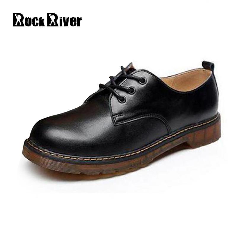 2017 Designer Luxury Genuine Leather Boots Men Black Ankle Boots Men Vintage Dr Martins Men Shoes