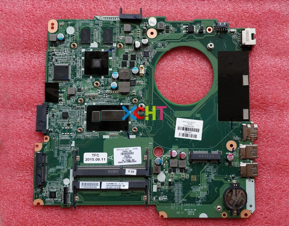 for HP Pavilion 14-n Series 734426-001 734426-501 734426-601 8670M/2GB 216-0841009 i5-4200U Laptop Motherboard Mainboard Tested