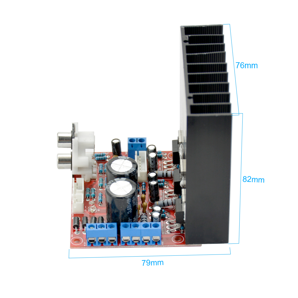 Aiyima Lm1875 21 Subwoofer Fever Amplifier Board Three Channel Circuit Tda7294 Bass Amp Speaker Audio In From Consumer Electronics On