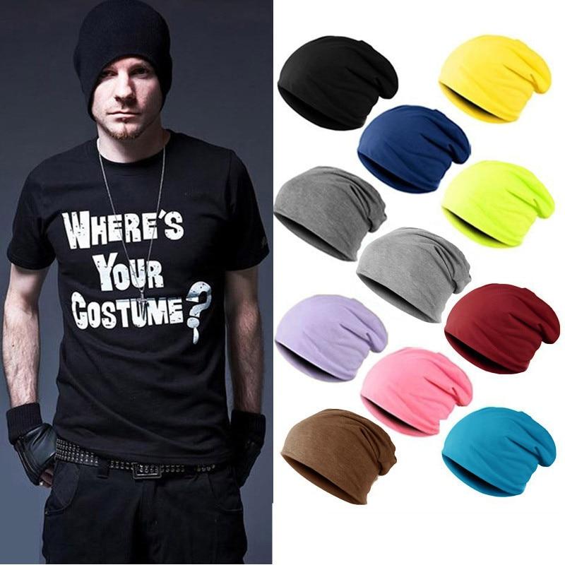 Unisex Cap Thin Beanie Hat Female Skullies Street Dance Beanies Women Turban Skully Hat Hip Hop Bonnet Hats Gorros Toucas