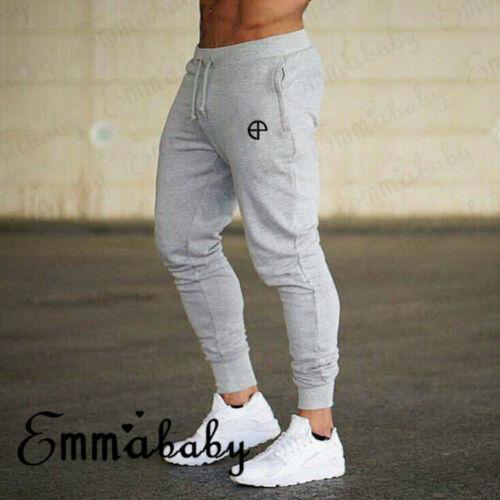 Men's Joggers Sweatpants Men's Active Sports Running Workout Pant With Pockets Spandex Cotton-Polyester Men Fleece Jogger Pants