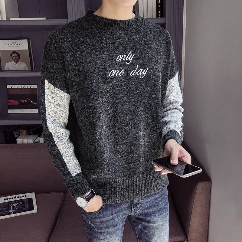 M-XXL Winter Christmas Sweater Men Clothes 2019 Fashion Warm Mens Sweater For Men Pullover Wear Jumper Sueters Thick SC85