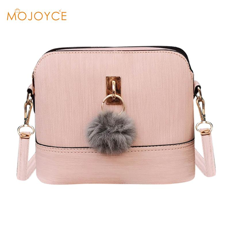 2017 Shell Women Messenger Bags PU Leather Mini Female Shoulder Bag Handbags High Quality Cross Body Bag Bolsas Feminina New Hot