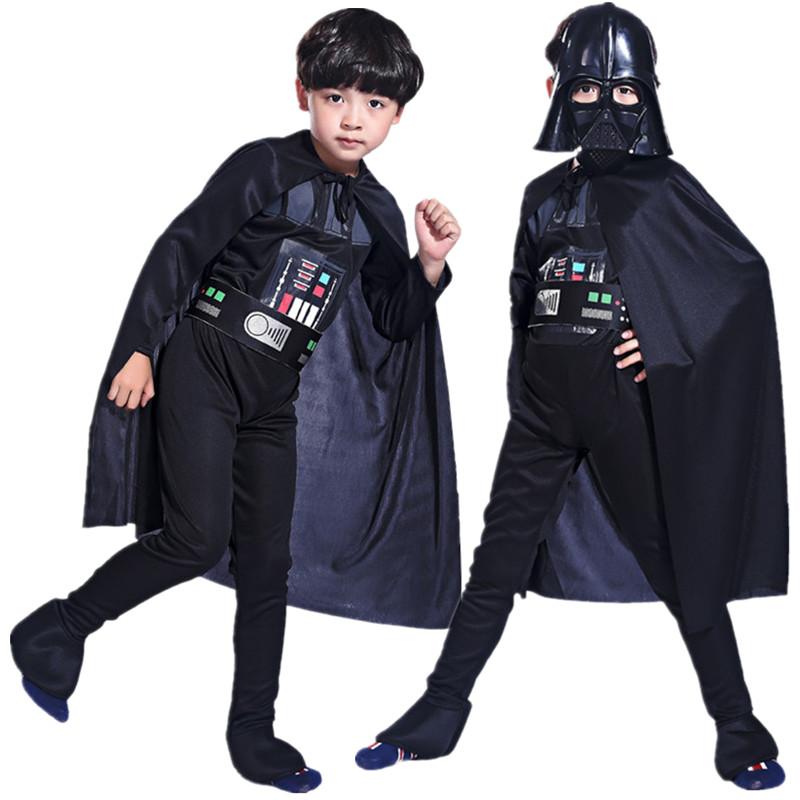 aliexpresscom buy free shipping halloween carnival star wars costume kids boys storm trooper darth vader anakin skywalker children cosplay clothes from - Halloween Darth Vader