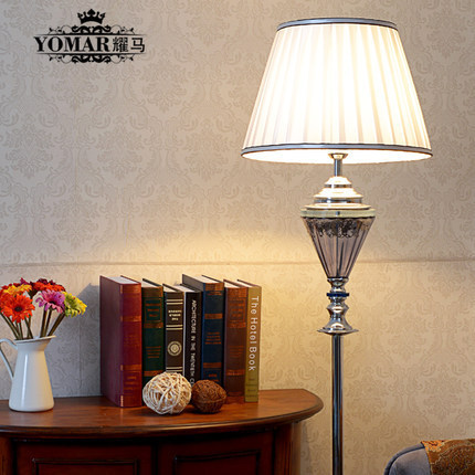 Fashion Modern Crystal Floor Lamp Living Room Lights Bedroom Lamps Crystal  French Modern Stand Lights Crystal Part 44