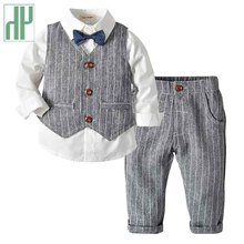 Kids boys clothes stripe Suit Toddler Childrens Clothing Fashion Baby Tracksuits Formal boutique kids dresses for outfits