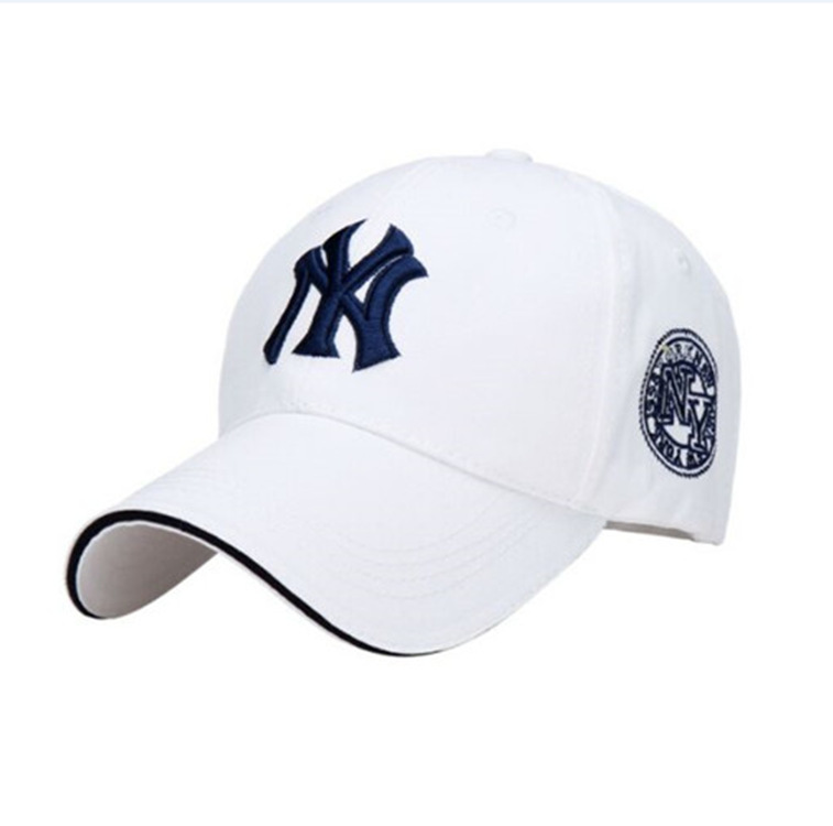 Spring and summer new outdoor sports embroidery   baseball     caps   men and women trailing casual hats ladies hats.