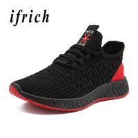 Running Shoes for Men Summer Breathable Man Sneakers For Sport Black Gray Walking Shoes Men Luxury Brand Running Trainers