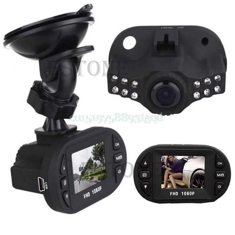 1080P Angle 120 Full HD IR Night Vision Car DVR Vehicle Camera Video Recorder Dash Cam