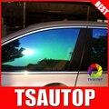 Cd7080 1.52 * 30 M camaleón ventanilla del coche de la película Pdlc decorativo autoadhesivo película de vinilo pegatinas parabrisas de protección solar para el coche