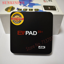 5 Pz/lotto 2018 EVPAD 2 S + Plus. 3D 4 K IPTV Smart TV Android Box 1G/8G 2.4G/5G WiFi HD Media Player Supporto di Asia TV Live canali(China)