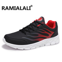 Ramialali Men Running Shoes Comfortable Breathable Outdoor Sports Light Shoes Men Athletic Training Run Sneakers Big