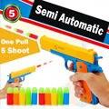 Clássico Brinquedos Nerf Pistola Bala Mole Arma Mauser pistola M1911 armas de brinquedo com balas de Revólver de plástico das Crianças Dos Miúdos Ao Ar Livre jogo