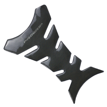 1pcs Universal Carbon Fiber Motorcycle Tank Pad Protector Sticker Fish Bone Style Motorcycle Oil Tank Stickers