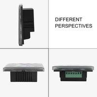 10 шт. 12 24 В RGBW Полный Цвет диммер сенсорный Панель контроллер для RGB RGBW Светодиодные ленты