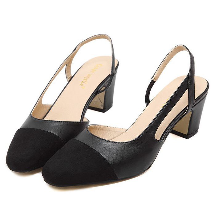 ФОТО 2017 new design fashion brand new coming woman spring summer pumps shoes with the stable block heel DS094 female pumps