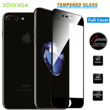 Xinyada Full Cover Protection Tempered Glass For iPhone 8 X 7 Plus 6 6S iPhone8 Plus Screen protector Lcd Film Guard Hoesje