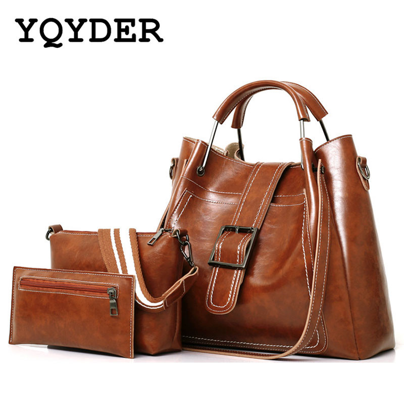 Women's Handbag Large Capacity Casual Tote Bag Soft Leather Handbags Female Pu Leather Shoulder Bags with Purse Bolsa Feminina famous brand women s pu leather shoulder bag women messenger bags handbag female casual soft tote bolsa feminina 1stl
